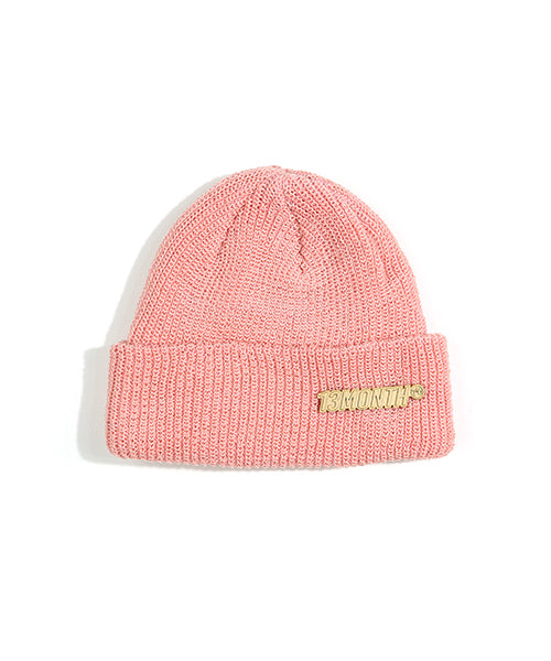 [13MONTH] BROOCH PASTEL COLOR BEANIE (PINK)