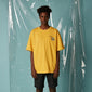 [AT THE MOMENT] Paradise Half T-shirt (MUSTARD)