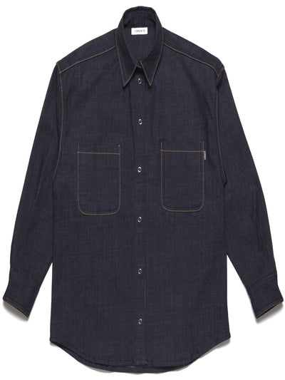 [13MONTH] RETURN AND YOUTH DENIM SHIRT(DENIM)