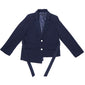 [BIBYSEOB] TIM UNBAL JACKET NAVY