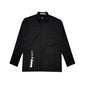 [AT THE MOMENT] Pocket Zipper Shirt (BLACK)