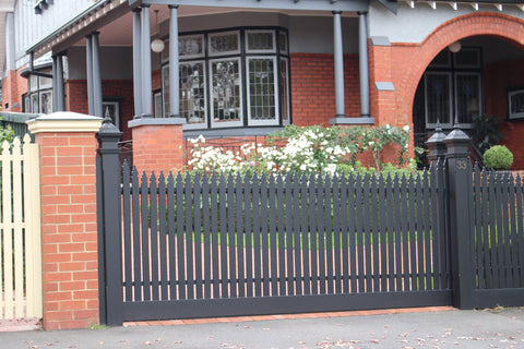 Timber Sliding gate