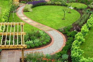 Blending water butts into landscape and garden design...