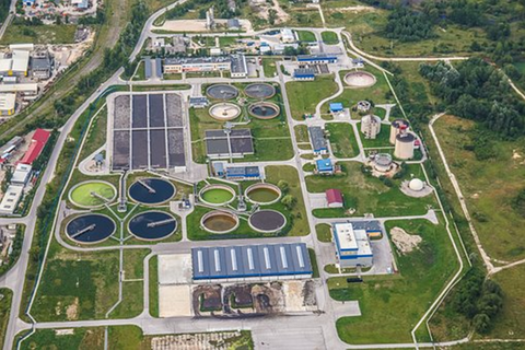 wasetwater treatment works