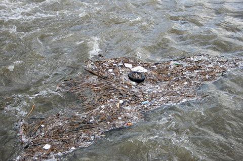 flotsam pollution wastwater outfall