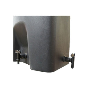 160 Litre Wall Mounted Water Butt Rainwater tank - optional Guttermate filter