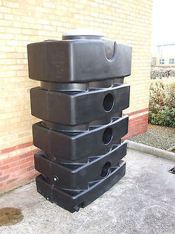 1500l Above Ground SuDS Rainwater Attenuation Tank - Freeflush Rainwater Harvesting Ltd.