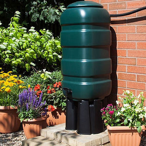 Value Rainwater Harvesting Package 250l butt, silverline or hozelock pump and filter - Freeflush Rainwater Harvesting Ltd.