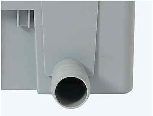 Water butt connector - Quattro rainwater downpipe self cleaning filter - Freeflush Rainwater Harvesting Ltd.