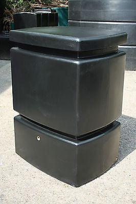 Large Water butt - Water Pillar - 525l with optional quality diverter and tap - Freeflush Rainwater Harvesting Ltd.