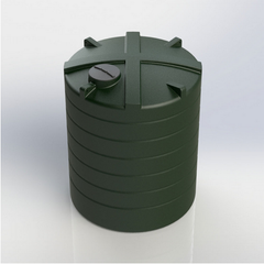 Enduramaxx High Capacity Commercial Above Ground Cylindrical Rainwater Water Tank