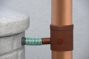 3P Rain Collector Downpipe Water Butt Filter - Freeflush Rainwater Harvesting Ltd.