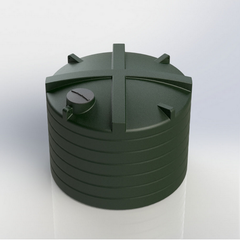 Enduramaxx High Capacity Commercial Above Ground Cylindrical Potable Water Tank