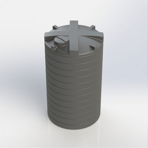 Enduramaxx High Capacity Commercial Above Ground Cylindrical Potable Water Tank - Freeflush Rainwater Harvesting Ltd.