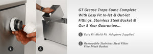 Grease Trap - GT Grease Catcher - Freeflush Rainwater Harvesting Ltd.