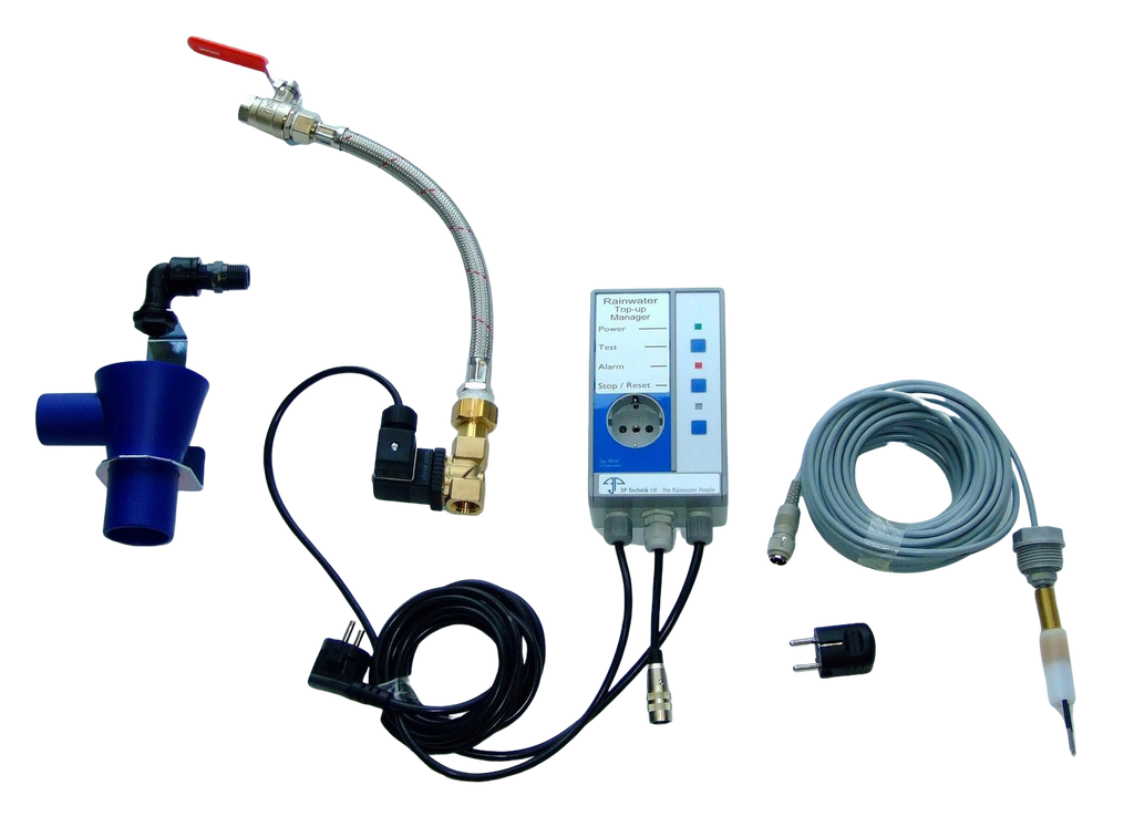 Rainwater Harvesting Top-up Controller with Pump Isolation and Alarm - Freeflush Rainwater Harvesting Ltd.