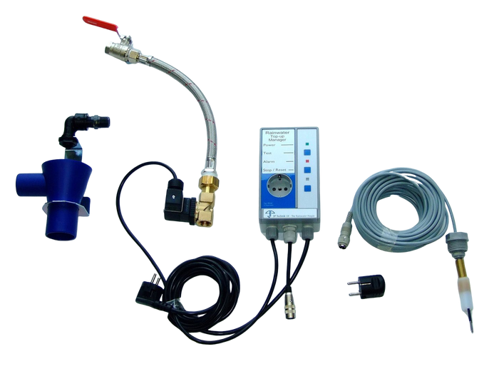 Rainwater Harvesting Top-up Controller with Pump Isolation and Alarm