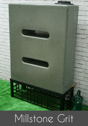 400 Litre Slim Water Butt Rain Harvesting Tank - Freeflush Rainwater Harvesting Ltd.