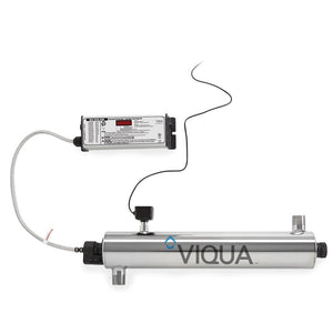 Viqua Monitored Ultra Violet Treatment System - Freeflush Rainwater Harvesting Ltd.