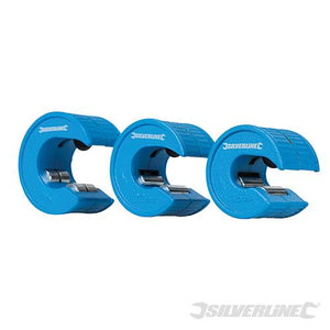 Silverline Quick Cut Pipe Cutter Set 3pce 15, 22 & 28mm Set