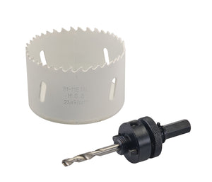 Bi-metal downpipe holesaw - Freeflush Rainwater Harvesting Ltd.