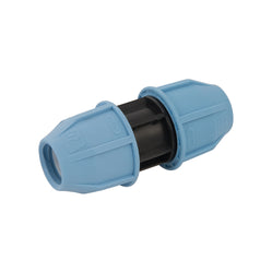 MDPE Straight Pipe Coupling 20mm x 20mm, 25mm x 25mm - Freeflush Rainwater Harvesting Ltd.