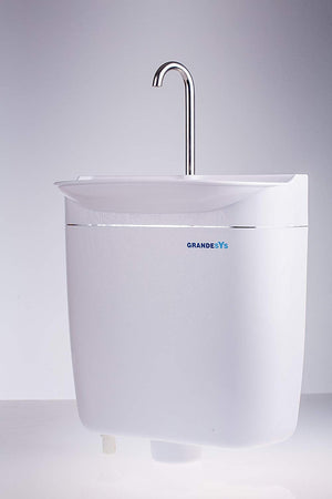 GrandeSys (AquaDue) Toilet cistern with integrated sink SPARES - Freeflush Rainwater Harvesting Ltd.