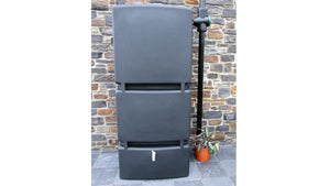 Large Water butt - Water Pillar - 800l with quality filter and tap - Freeflush Rainwater Harvesting Ltd.
