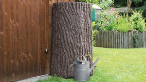 Evergreen Lite Water Butt – 300 Litres - Freeflush Rainwater Harvesting Ltd.