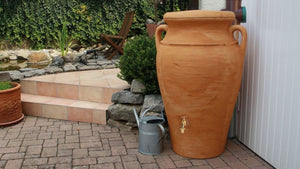 Helena Urn Style Water Butt – 300 Litres - Freeflush Rainwater Harvesting Ltd.