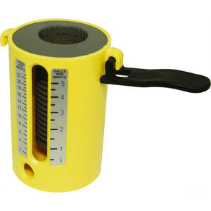 Flow Measuring Cup - Freeflush Rainwater Harvesting Ltd.