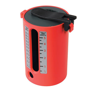 Dickie Dyer Flow Measure Cup 2.5 - 22Ltr / 1/2 - 5 Gallons