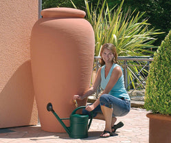 Rainwater Amphora Classic Urn Water butt - 300 and 500 litre - Freeflush Rainwater Harvesting Ltd.