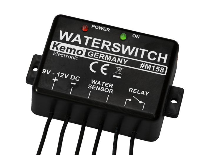 Water Sensor Relay Switch Module, 9-12V DC