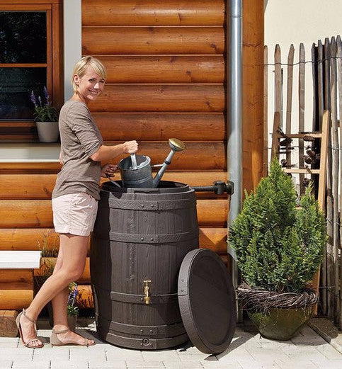 Barrica rain water barrel water butt -260 and 420 litre capacity