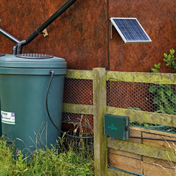 Irrigatia -Solar Automatic Watering System C60,  C120 and C180 - Freeflush Rainwater Harvesting Ltd.
