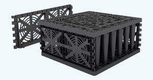 Rainwater Soakaway Attenuation Crate Package - EcoBloc Maxx - Freeflush Rainwater Harvesting Ltd.