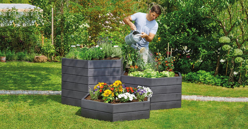 Raised Bed Planters - Freeflush Rainwater Harvesting Ltd.