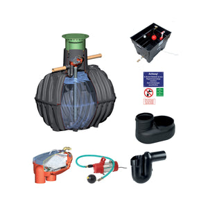 Carat Rainwater Harvesting System 2700l, 3750l, 4800l and 6500l