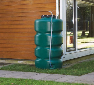 Colossus water butt with diverter and tap - 500, 750 and 1000 litre capacity - Freeflush Rainwater Harvesting Ltd.