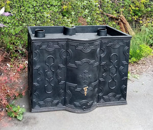 Prestige 500 litre Georgian rain water butt planter