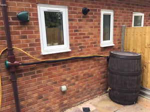 Hosepipe Wall Clamp Clip - Freeflush Rainwater Harvesting Ltd.