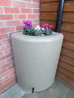 200 Litre  Corner Water Butt and Planter