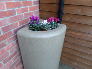 200 Litre  Corner Water Butt and Planter - Freeflush Rainwater Harvesting Ltd.