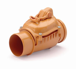 In line Back Flow Prevention Non Return Valve 110mm, 160mm, 200mm - Freeflush Rainwater Harvesting Ltd.