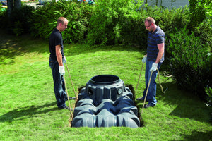 Freeflush Domestic Rainwater Harvesting System 1500l, 3000l, 5000l and 7500l - Freeflush Rainwater Harvesting Ltd.