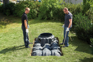 Rainwater Harvesting System Installation - Freeflush Rainwater Harvesting Ltd.