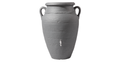 Antique wall amphora terrcotta water butt grey