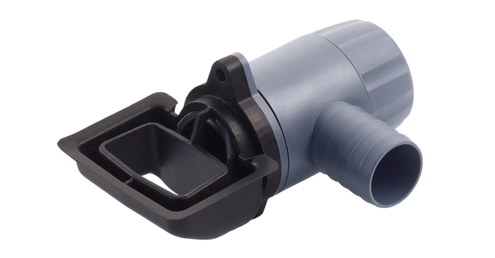 Rain Collector Rapido fit Quattro water butt diverter for rectangular and square downpipes