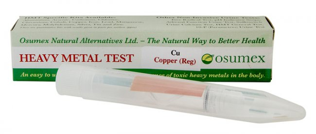 Quick Test Kit for Copper (Cu) (1 test)